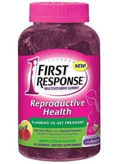 First Response Reproductive Health Multivitamin Gummy, 90 Count ** Check this awesome product by going to the link at the image.