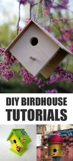 Whimsical Birdhouse Designs Free Html on