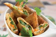 Empanadas de la India #Samosas #Vegetarianas