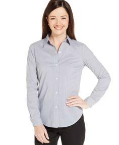 Jones New York Collection Button-Down Shirt