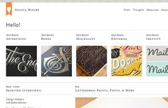 jessica hische website portfolio design homepage (scheduled via http://www.tailwindapp.com?utm_source=pinterest&utm_medium=twpin&utm_content=post12680036&utm_campaign=scheduler_attribution)