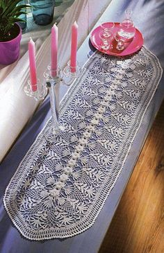 nice Free Crochet Table Runner Patterns