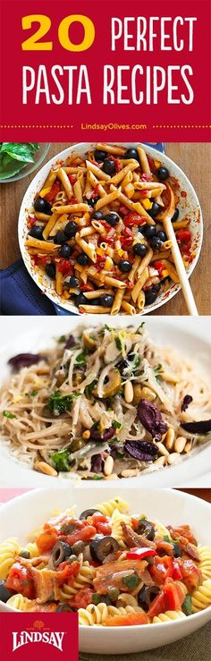 awesome Get 20 cheap and easy pasta recipes perfect for lunch or dinner. Pick your favor...