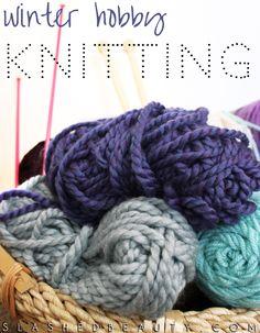 Winter Hobby: Knitting | Slashed Beauty