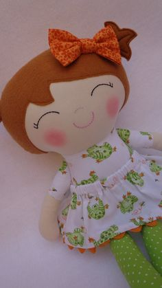 Camilla doll  Handmade doll fabric dolls by dollsfofurasbyleila