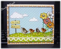 Goodbye Friends using Stampin Up Happy Together.