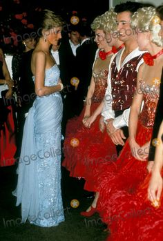 3-9-1989 Princess Diana , Birthright Ball Photo By:dave Chancellor-alpha-Globe Photos, Inc