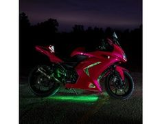 Motorcycle Led Lighting Kit Multi Strip Remote Activated Rgb Color Changing Kit Motorcycle Led Lighting Custom Choppers Led Light Kits