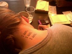 Sylvia Plath quote as a tattoo..think I might like it in white ink.