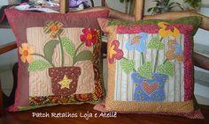 almofadas by Patch Retalhos, via Flickr