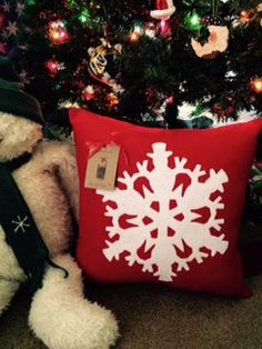 Holiday pillows/Chistmas Pillow/Chistmas by VirgiesDaughter