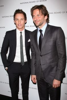 Eddie and Bradley Cooper at 2013 National Board Of Review Awards