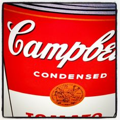 Warhol's Campbell - taken by @cesarrodriguezrodriguez