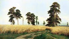 Картина Ивана Шишкина «Рожь» была написана в 1878 году, а на обратной стороне ее эскиза автор написал: «Простор, раздолье, рожь, русское богатство, Божья благодать».