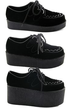 Get a pair of creepers