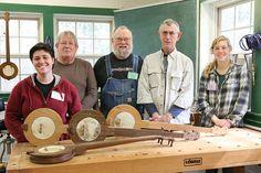 Making a Traditional Banjo with John Huron at the John C. Campbell Folk School, Brasstown, NC | folkschool.org