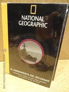 EL HUNDIMIENTO DEL BELGRANO.  (GUERRA DE LAS MALVINAS) ED / NATIONAL GEOGRAPHIC. DVD PRECINTADO.