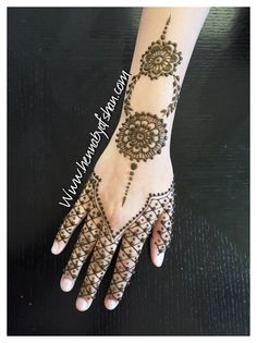 Henna Mehndi Designs, Hand Henna, Hand Tattoos, Arm Tattoos