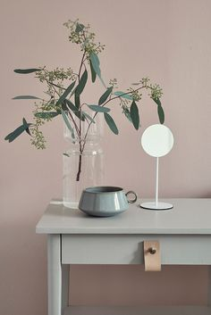 Move over Serenity Blue – we're pairing our Rose Quartz with something a bit different… - The Maker Place Interior Styling, Interior Decorating, Interior Design, Decorating Blogs, Sweet Home, Home Decoracion, Ideas Hogar, Deco Floral, Pink Walls