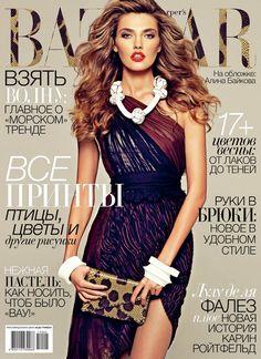 2bf07356f2dd Alina Baikova – for Harper s Bazaar Ukraine April 2012 Harper s Magazine,  Magazine Editorial, Magazine