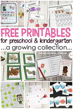 You CAN homeschool preschool on a budget! I've created more than one hundred free preschool printables for you to teach your littlest learners at home. #homeschoolprek #homeschooling #preschool #prek #prekathome #worksheets #printables #freeprintables #freepreschoolprintables via @homeschlprek