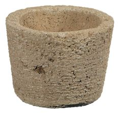 Deceptively light and delightfully designed, each handcrafted original brings bold texture to gardens and homes. Moss infusion during mixing ensures continual aging. Long lasting, weather resistant and pre drilled for drainage.  www.braungroup.com #containergardening #container #concrete #flowers #gardening