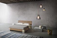 Noa è un letto con linee essenziali e stile [...]