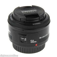 YONGNUO 50mm F1.8 Prime Lens for Canon 600D,700D,750D,760D,1000D,1200D FREE DHL