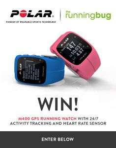 Win a M400 GPS Running Watch – open worldwide!  #sweepstakes #giveaway #sorteo #contest