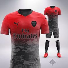 football jerseys Puma x Trapstar Inspired Football Kit Concept for Arsenal by SETTPACE . What jersey should I do next Football Uniforms, Team Uniforms, Football Jerseys, Sport Shirt Design, Sports Jersey Design, Jersey Designs, Soccer Kits, Football Kits, Arsenal Jersey