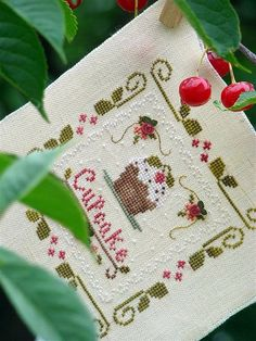 "CCN ""Sweet treats"" Cross Stitch Kitchen, Mini Cross Stitch, Cross Stitch Patterns, Gingerbread, Sweet Treats, Embroidery, Crossstitch, Holiday Decor, Tea Time"