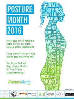 Lumo Lift is proud to be a part of Posture Month 2016.