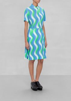 & Other Stories | Wavy Print Dress