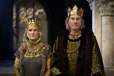 2003 - Eleanor (Glenn Close) and King Henry *Patrick Stewart) in 'The Lion in…