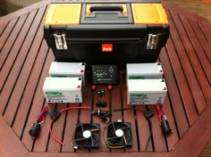 Portable Solar Power Generator - Components