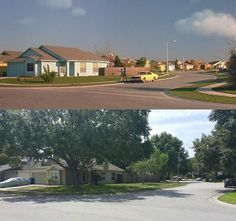 What Edward Scissorhands' Candy-Colored Neighborhood Looks Like Today | Mental Floss