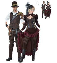 Steampunk couple yandy.com