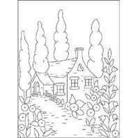 cottage embroidery designs - Google Search