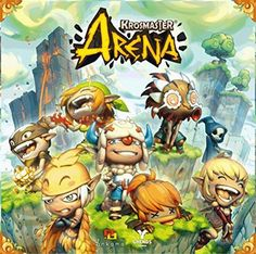 Krosmaster Arena Board Game!!! And for people to play it with me :)