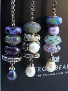 By permission I have borrowed this photo from a great collector on Trollbeads Gallery Forum.  Aren't these beads all so beautiful? For other inspiring photos - we now have 20,000   photos!!  www.trollbeadsgalleryforum.ning.com