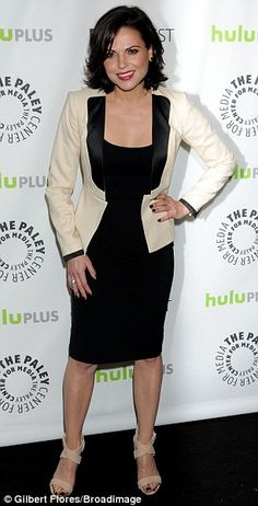 Lana Parrilla's outfit at Paleyfest 2013....Love it! #OnceUponaTime