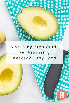Wondering when can babies eat avocado? Learn how to make avocado baby food and follow and easy step-by-step avocado baby food recipe.