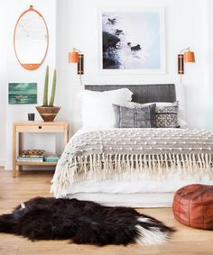 21 creative bedroom decorating ideas to try at home. The experts at domino magazine share 21 bedroom decorating ideas for anyone looking for creative, unique ways to decorate their bedroom.