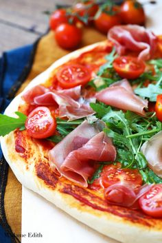 Aga, Prosciutto, No Bake Cake, Vegetable Pizza, Food And Drink, Baking, Vegetables, Kitchen, Dinners