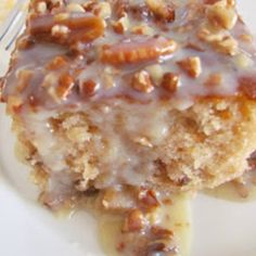 Southern Pecan Praline Cake with Butter Sauce Recipe   Just A Pinch Recipes#at_pco=smlre-1.0&at_si=53bc7b46c3d09835&at_ab=per-2&at_pos=0&at_tot=4