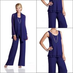 Cheap pants ideas, Buy Quality pant suit directly from China pants Suppliers:     Free shipping Long Sleeve Plus Size Mother Of The Bride Pant Suits With Jacket Customer Made 2014     Welcome