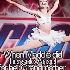 Best dance she ever has done, hands down! Dance Moms Moments, What Is Dance, Dance Moms Confessions, Dance Memes, Maddie And Mackenzie, Show Dance, Dance Tips, Maddie Ziegler, Best Dance