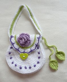 Crochet Purse Lina by TeenyWeenyDesign/Adrianne, via Flickr