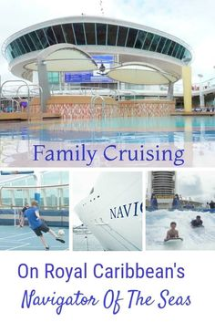 Why family cruising is incredible on Royal Caribbean's Navigator Of The Seas, If you are an active, sporty family cruising is a great way to see the world in luxury.