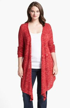 Lucky Brand Space Dye Duster (Plus Size) available at #Nordstrom $129